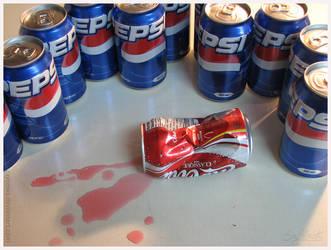 The Cola Wars - Pepsi by caycowa