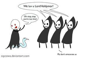 HP- We luv u Lord Voldymor by caycowa