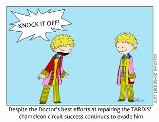 TARDIS Games by caycowa