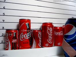 Coca-Cola Vs Pepsi by caycowa