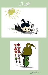 L'll Loki Dreams of Success by caycowa