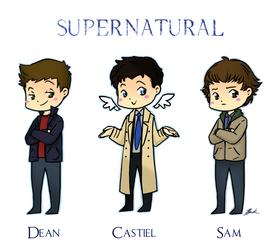 Supernatural by caycowa