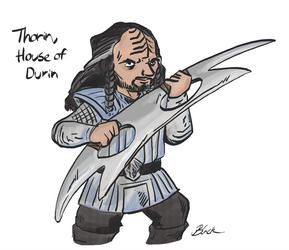 Hobbit - Klingon Thorin by caycowa