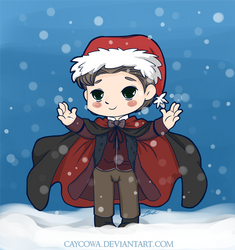 Doctor Who - Father Christmas by caycowa