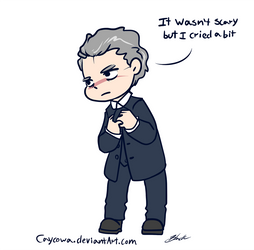 Doctor Who -The Twelfth Doctor on his regeneration by caycowa