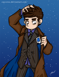 Doctor Who - Tenth Doctor by caycowa