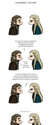 Hobbit - We Three Kings - I am patient by caycowa