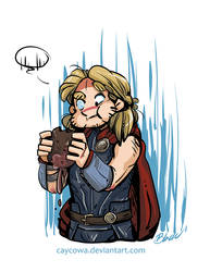 Thor - Mystery Meat by caycowa