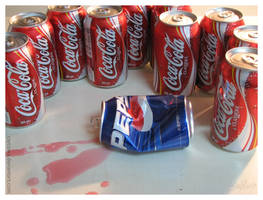 The Cola Wars - Coca-Cola by caycowa