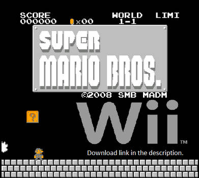 SMB Madman s Super Mario Bros. Wii download by RyanSilberman on DeviantArt e428a36e2a7