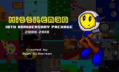 Missileman 10th Anniversary Package (in desc.) by RyanSilberman