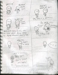 Filler Comic by RyanSilberman