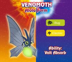 Venomoth Alola Form by sergiur12