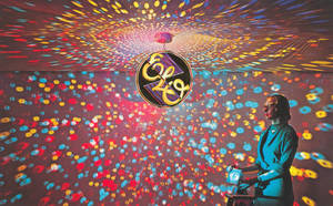 ELO disco ball by Don-O