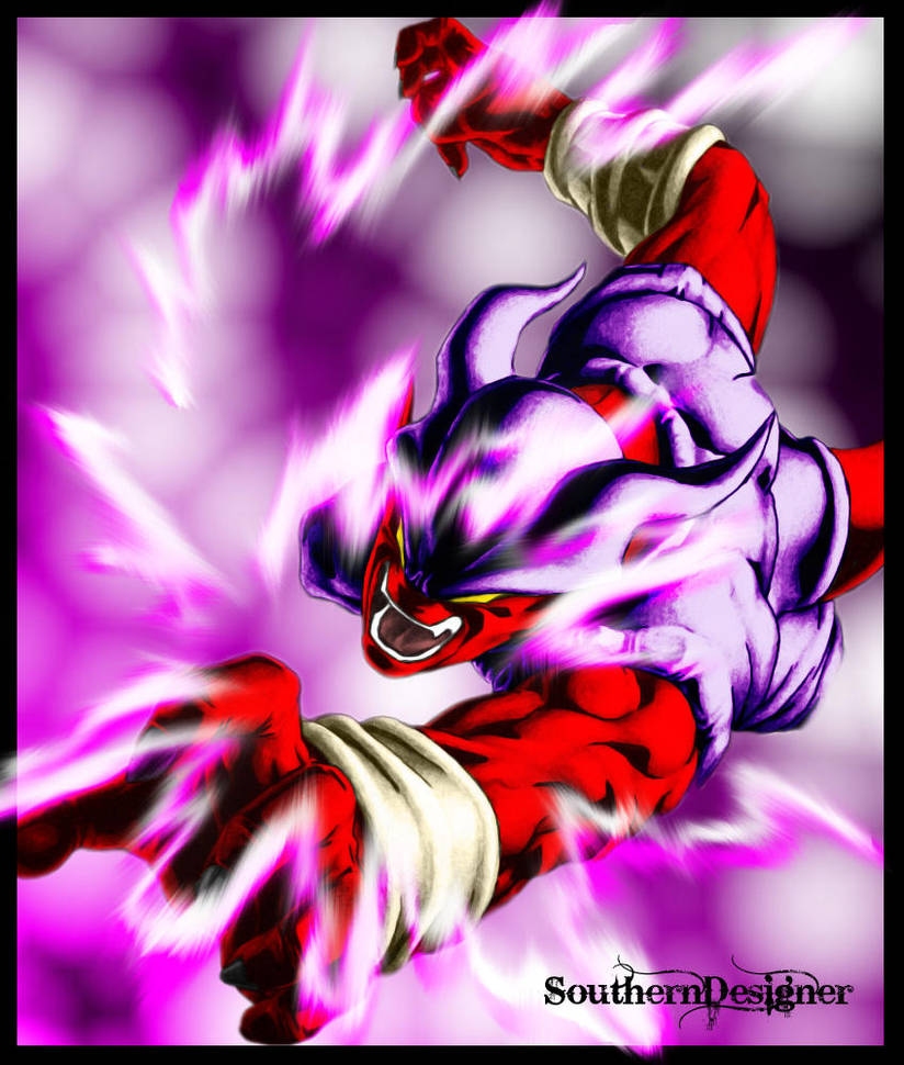 Dragon Ball Super Christmas Wallpaper: Janemba's Rage By SouthernDesigner On DeviantArt
