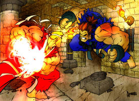 Street fighter by SouthernDesigner