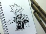 CLOUD Final Fantasy by Latchunga