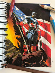 Captain America by Latchunga