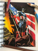 Captain America by Latchunga