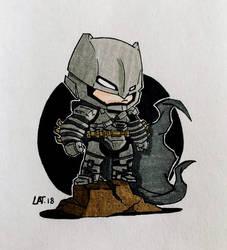 Chibi Batman by Latchunga