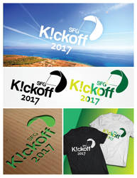 Kickoff Logo for Paragliding club by Hellle