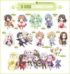 .5 USD commission. by Hetiru