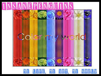 Color My World by insanepenguins