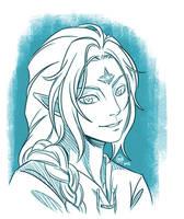 Galdor Portrait Sketch by raposavyk