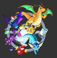 Pokemon Go by raposavyk