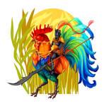 Rooster Knight by raposavyk