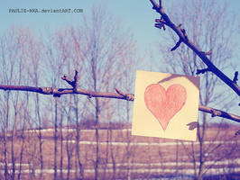 LOVE, love by paulie-nka