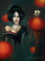 She Lingers. by ren0x