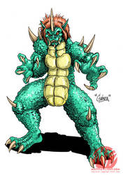 Godzilla Neo - GABARA by KaijuSamurai