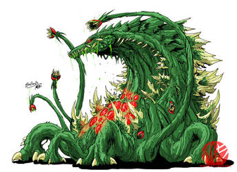 Godzilla Neo - BIOLLANTE by KaijuSamurai