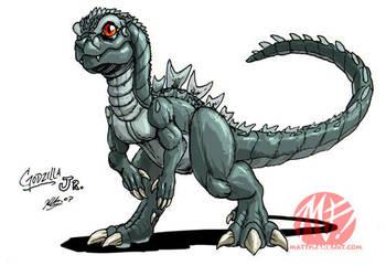 Godzilla Neo - GODZILLA JR by KaijuSamurai