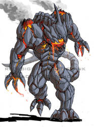 Godzilla Neo - OBSIDIUS by KaijuSamurai