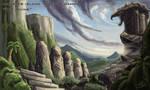 Monster Island - The Ruins by KaijuSamurai