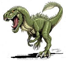 Godzilla Neo - GODZILLASAURUS by KaijuSamurai