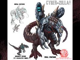 CyberZilla redo for jira004 by KaijuSamurai