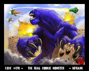COW - The Real Cookie Monster by KaijuSamurai