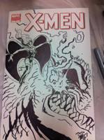 X-Men sketch cover by KaijuSamurai
