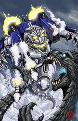 GODZILLA issue 5 cover by KaijuSamurai