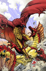 GODZILLA issue 4 cover by KaijuSamurai