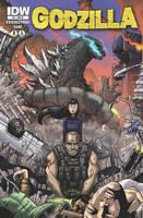 Godzilla issue 8 cover by KaijuSamurai