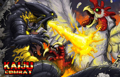 Kaiju Combat battle promo by KaijuSamurai