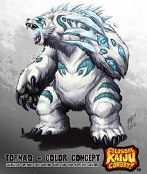 Kaiju Combat - Tornaq by KaijuSamurai