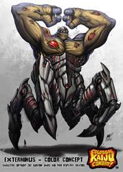 Kaiju Combat - Exterminus by KaijuSamurai