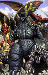 Godzilla cover 10 by KaijuSamurai
