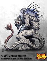 Kaiju Combat - Scaos by KaijuSamurai