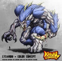 Kaiju Combat - Lycanoid by KaijuSamurai